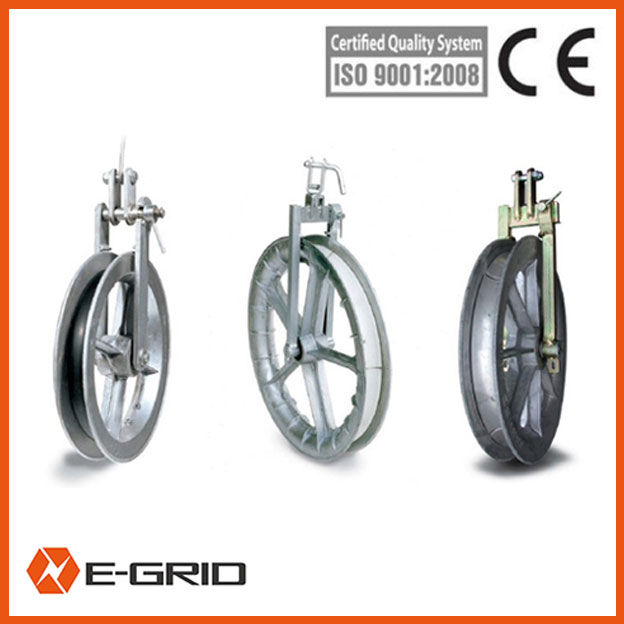 Small light single conductor pulleys china