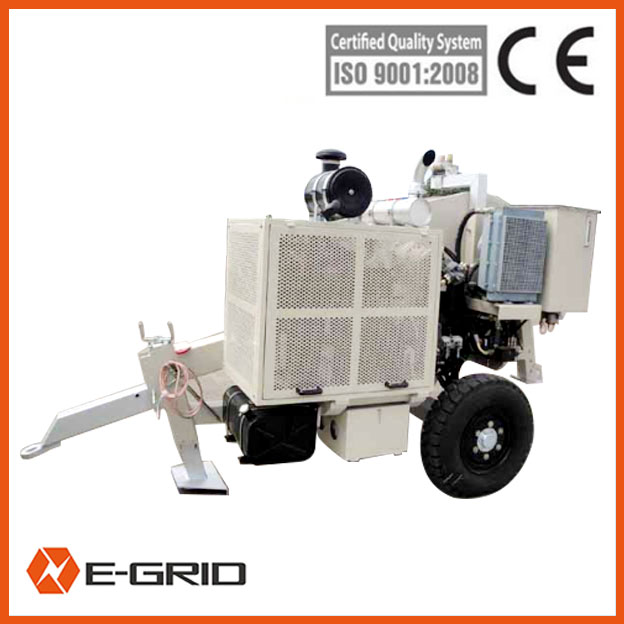 Overhead OPGW Installation Hydraulic Puller and Tensioner