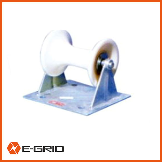 Cable ground roller (Steel plate support)